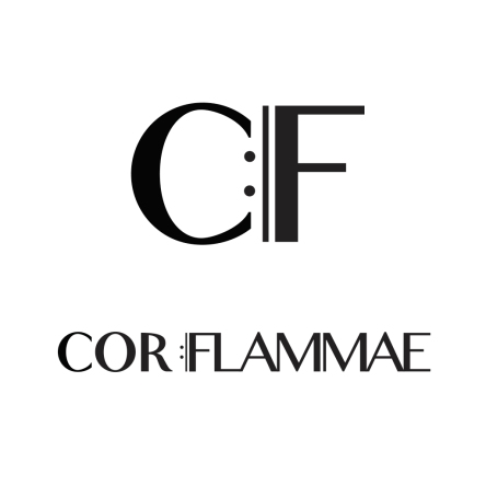 Logo for budding Vancouver choir, Cor Flammae