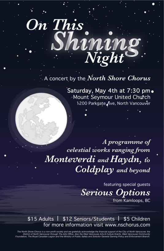 Shining Night Poster