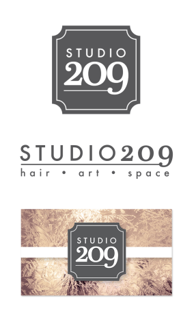 Studio 209 Logo and Business Card